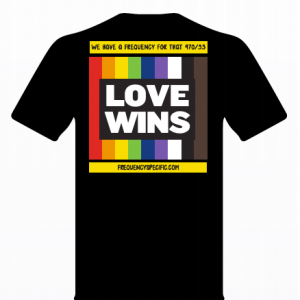 Love Wins Shirt Front